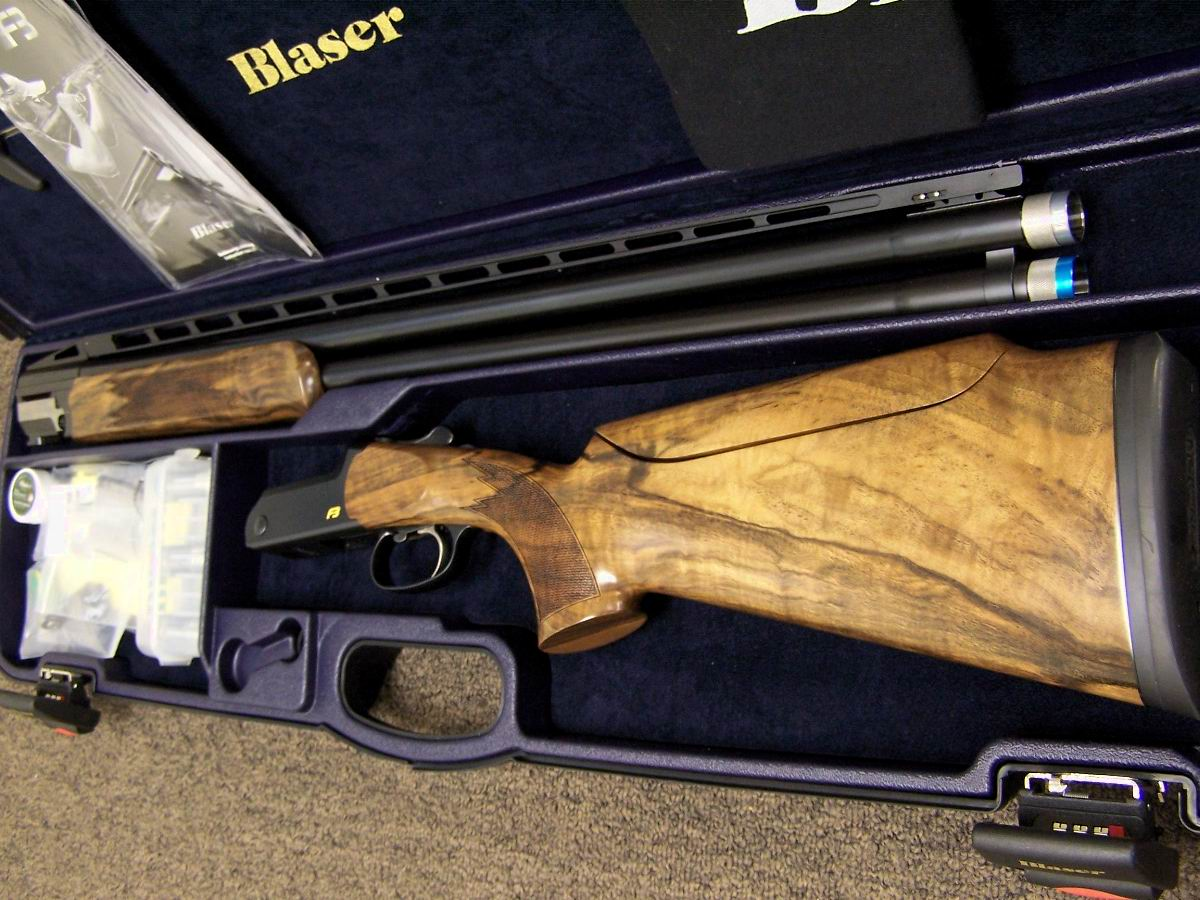 Blaser 12 gauge f3 vantage over and under new shotgun for sale buy - Blaser 32 F3 Super Sport Higher Adjustable Rib Adjustable From 50 50 To 70 30 Features Upgraded Grade 5 Wood W Factory Adj Comb Equipped With 5